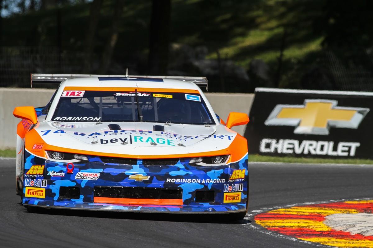 Peter Robinson   Trans Am 2 Racing Australia
