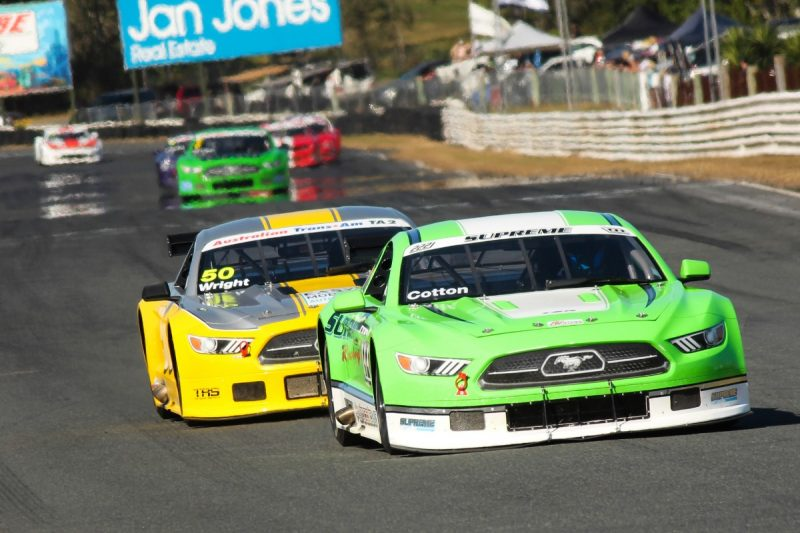 Chad Cotton and Russell Wright | Trans Am 2 Racing Australia